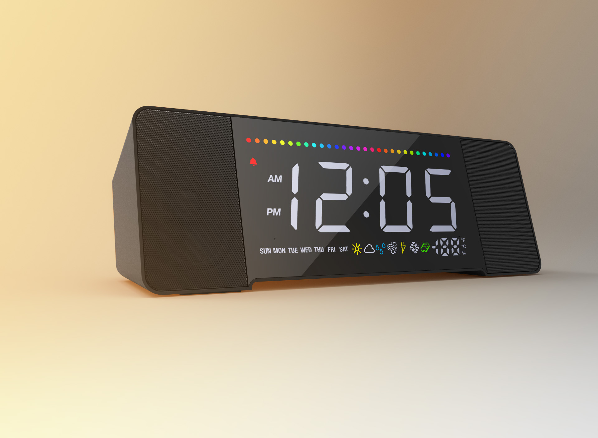 Sandman Doppler: USB Charging Smart Alarm Clock